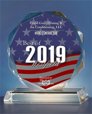 Good Guys Heating & Air Conditioning, LLC has been selected for the 2019 Best of Westfield Awards in the category of HVAC Contractor