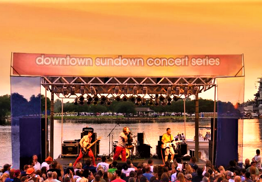 Downtown Sundown!