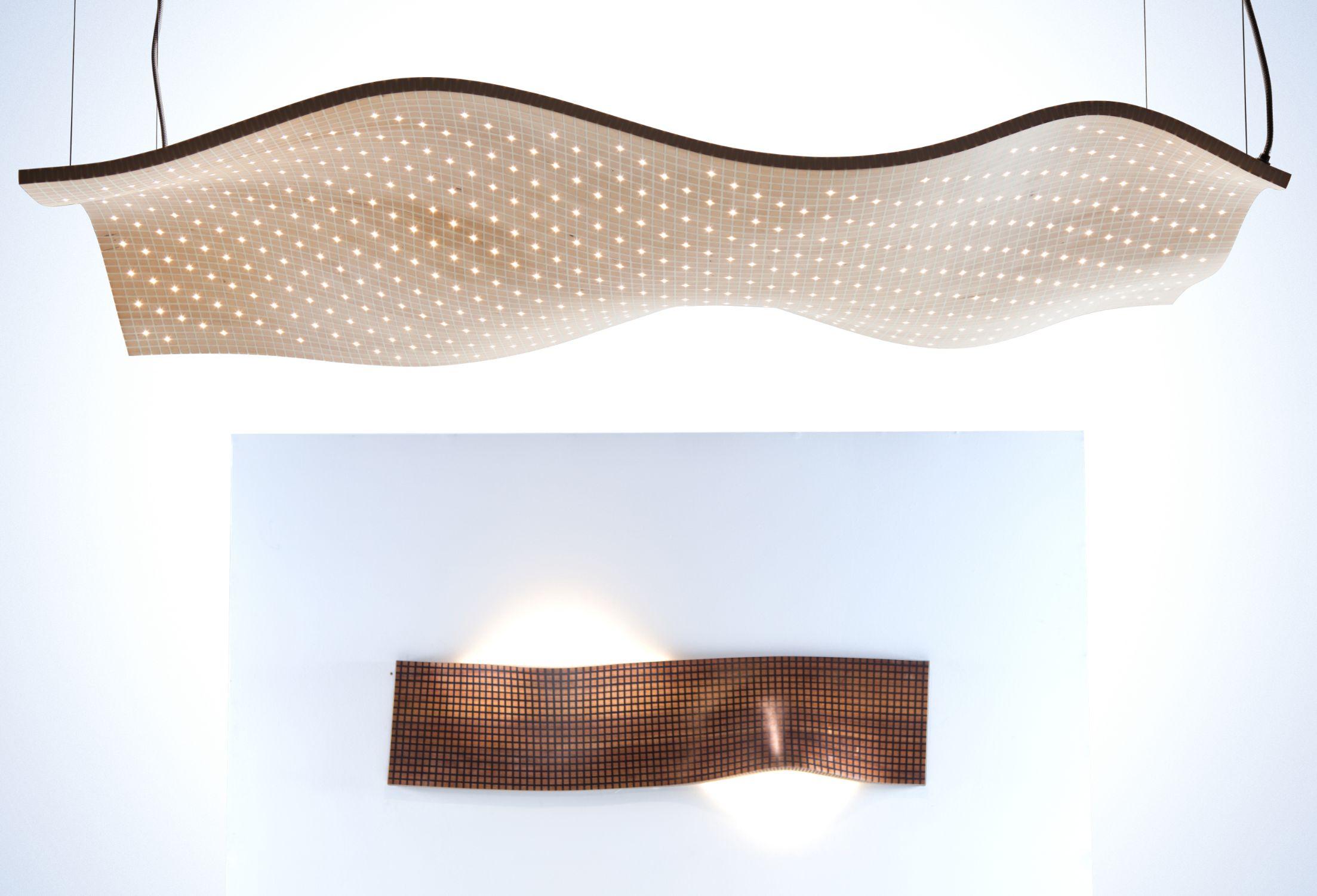 Grid Suspension Light