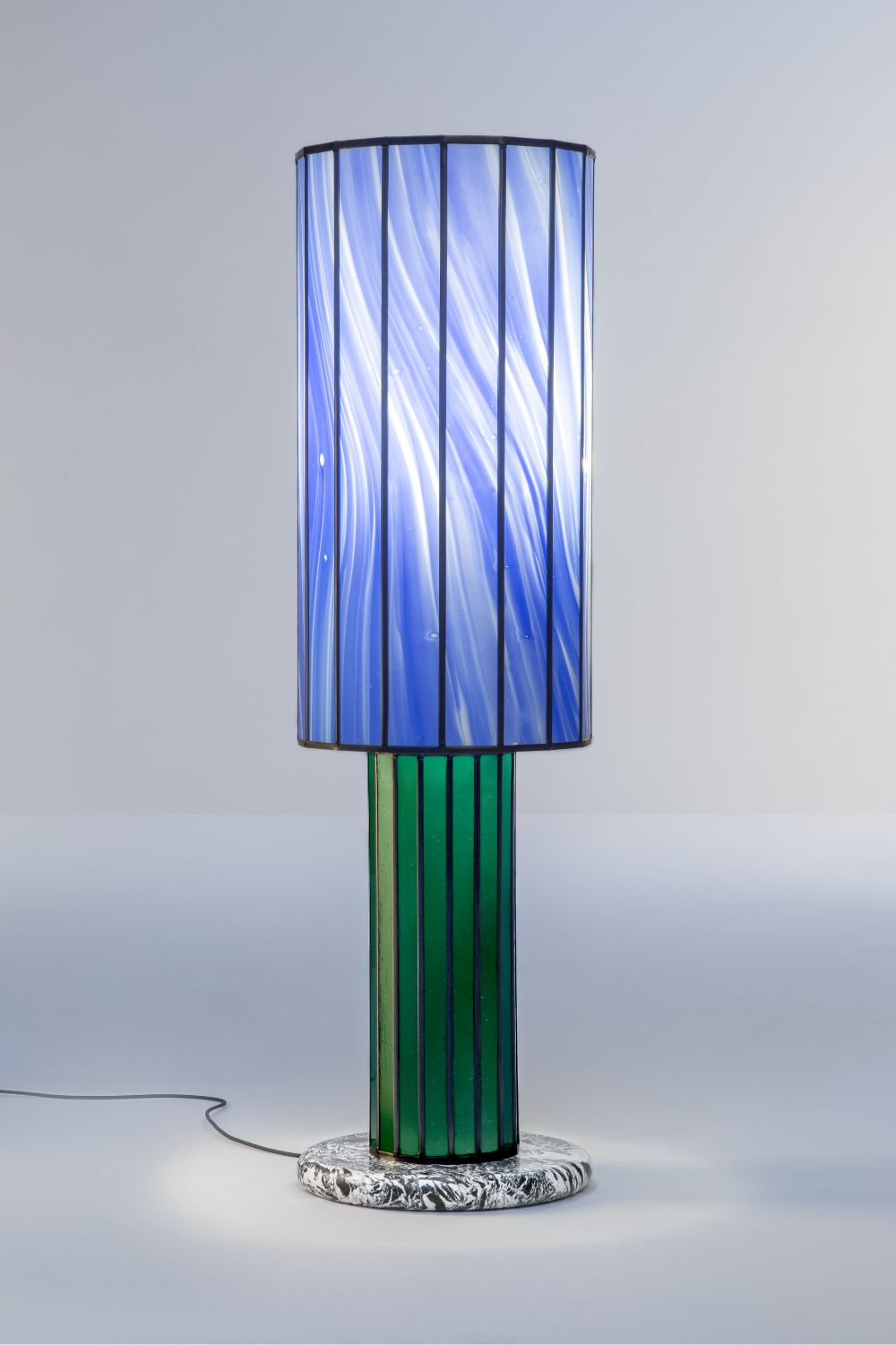 The word is out - Doppia Firma 2019 'Stained Glass Floor Light', in collaboration with Atelier Mestdagh