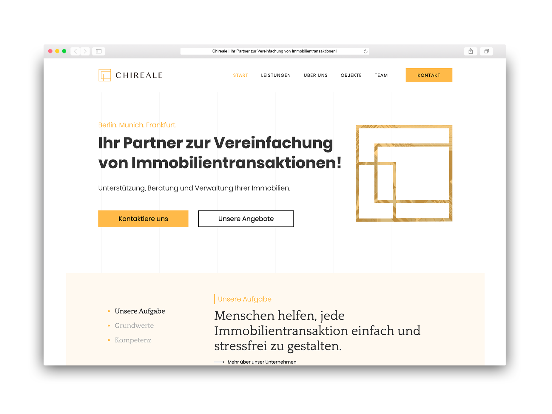 immobilien branding design real estate property development