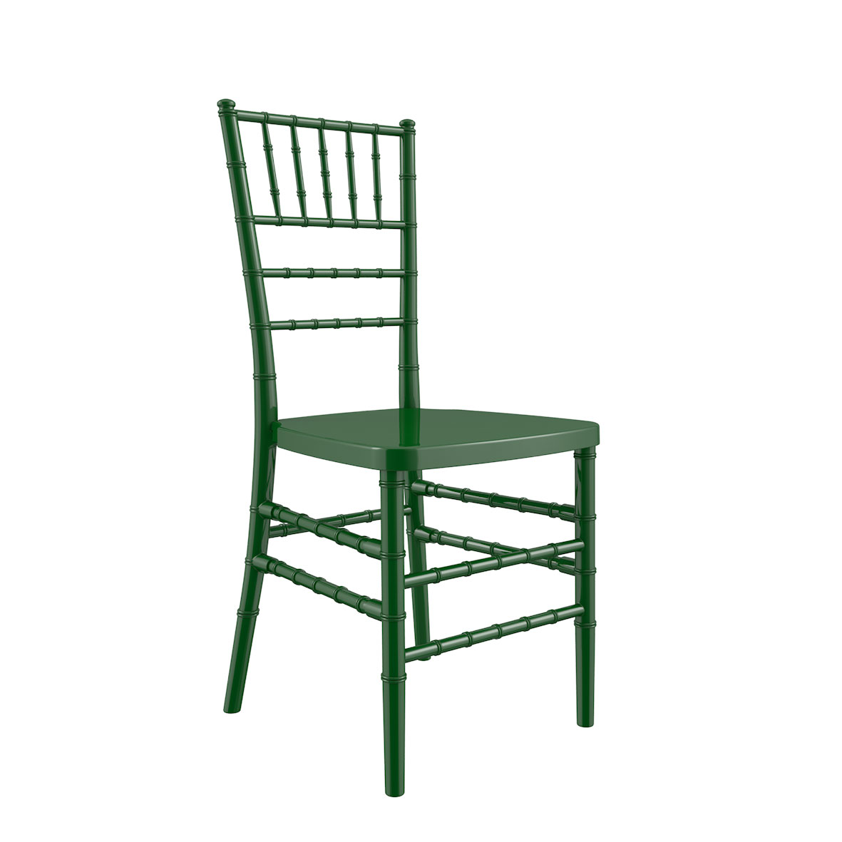 Silla Tiffany Color Verde Oscura