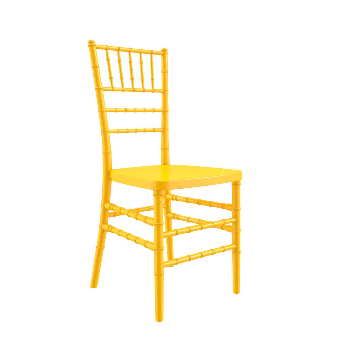 Silla Tiffany Color Amarilla