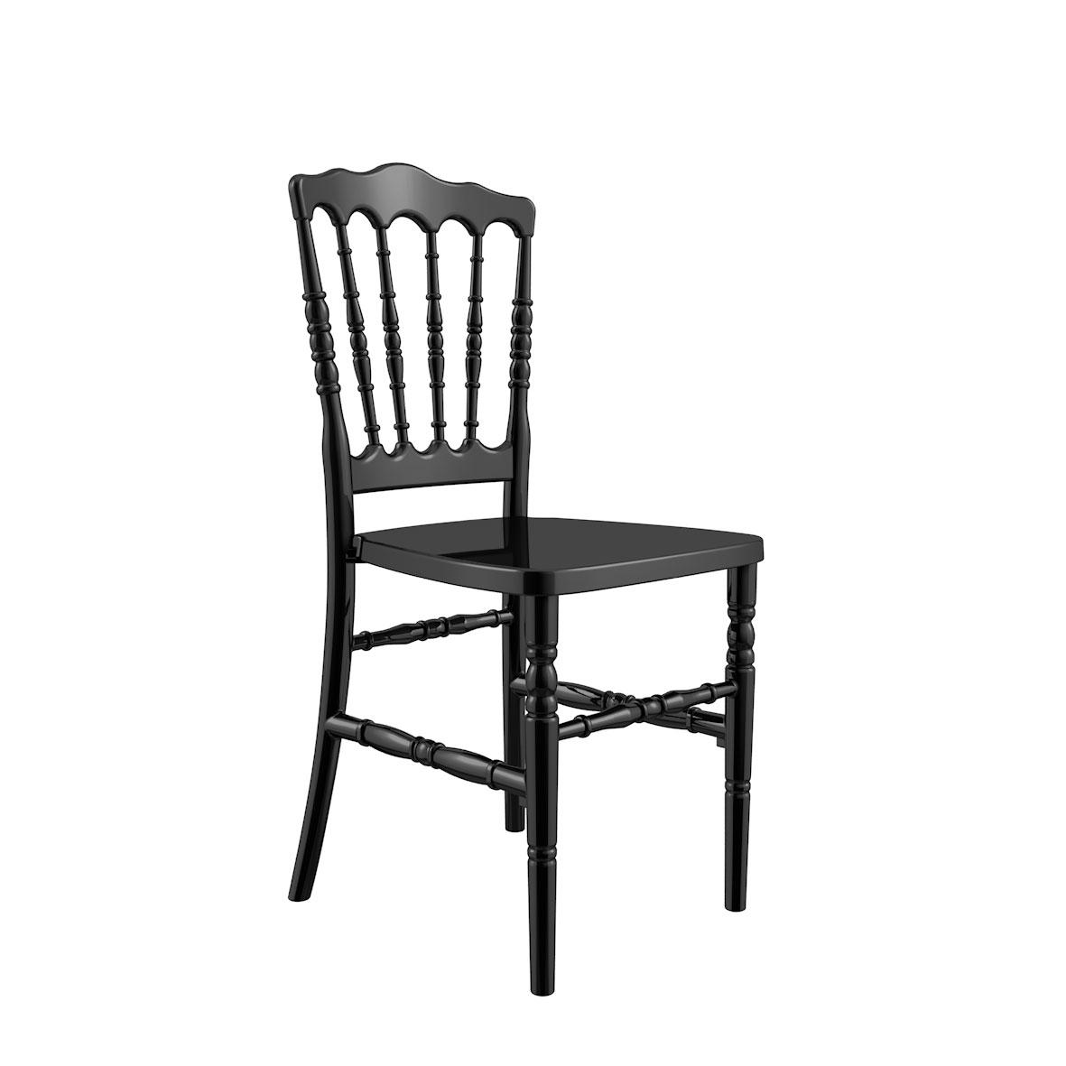 Silla Dior Color Negra