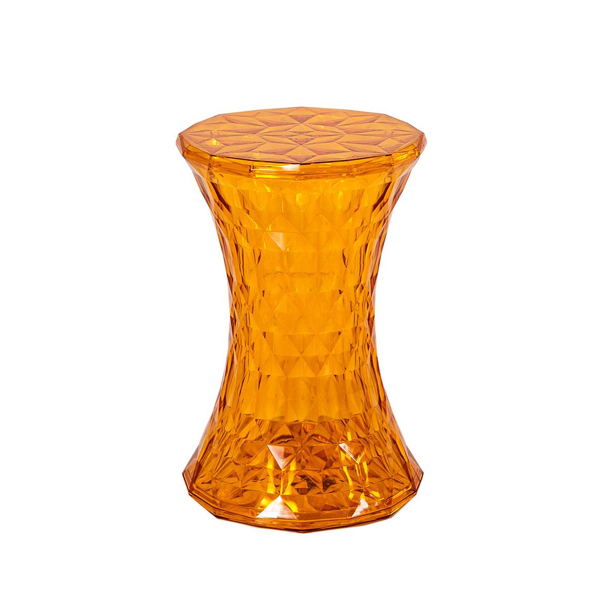 Banqueta Prism Cristal Ámbar