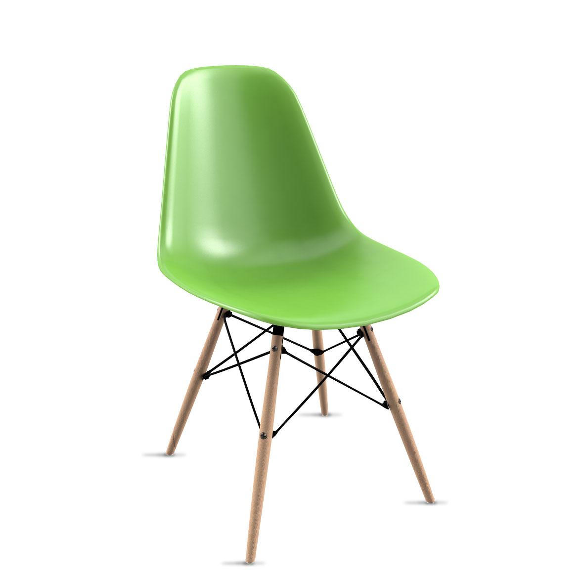 Silla Eames Verde