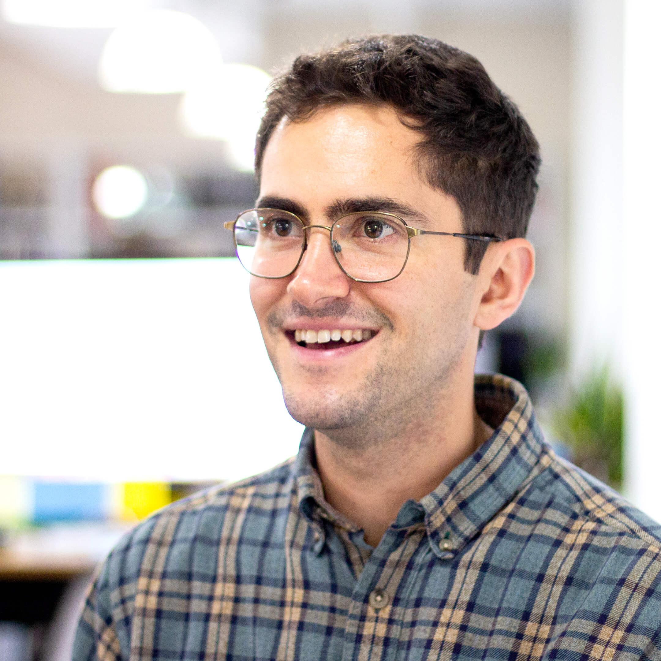 Portrait of Nick Greenberg