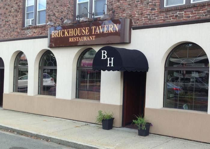 Brickhouse tavern building front daytime