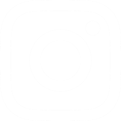 White Instagram logo with link to instagram