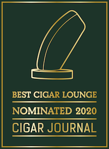 Bertie Cigar Lounge - Best Cigar Lounge nomination by Cigar Journal Trophies
