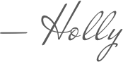 Holly Krivo Signature