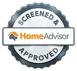 Screened and approved on Home Advisor