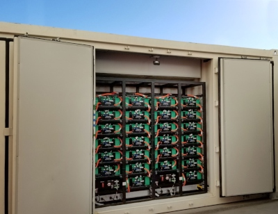 On-site Solar Battery Storage