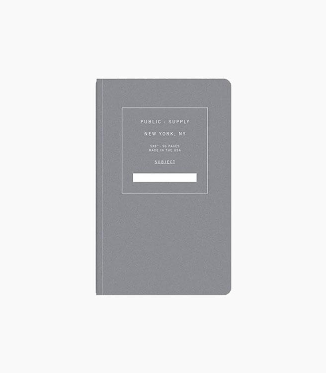 Public Supply Notebook - Single - Black 02
