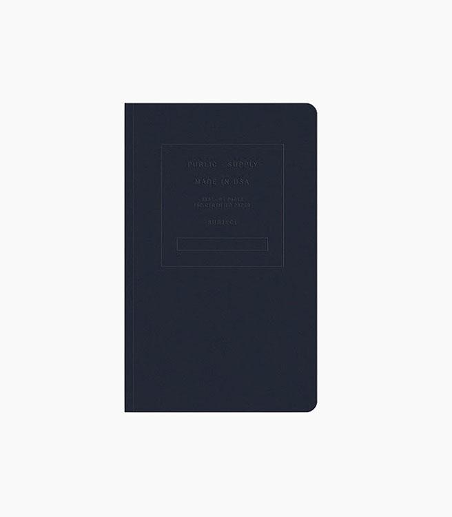 Public Supply Notebook - Single 5x8 Embossed - Night Shift