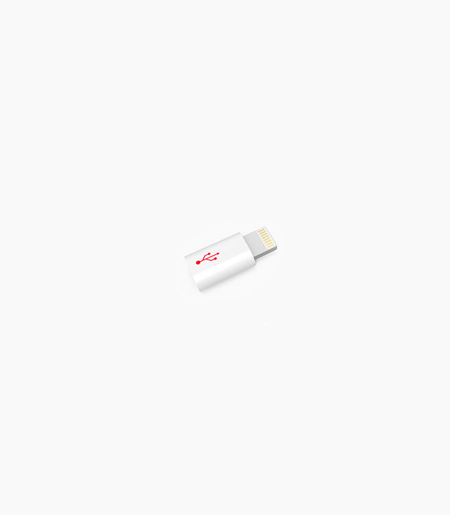 Powerstick Apple Lightning Tip - White