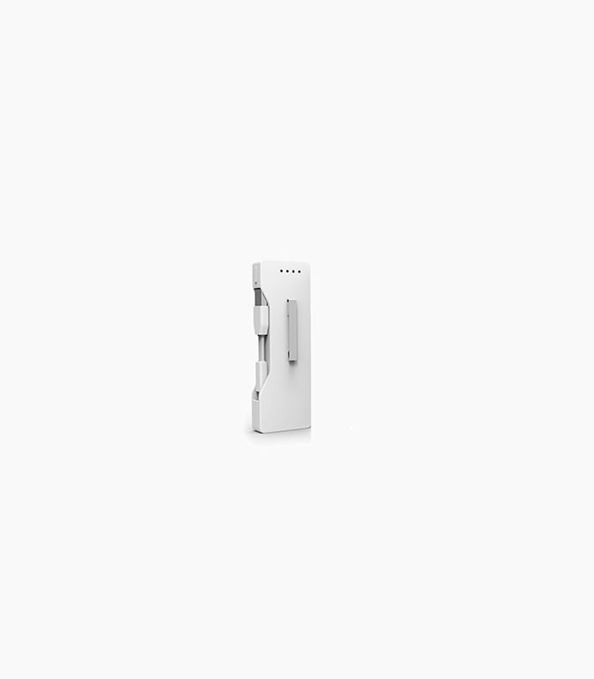 Powerstick PowerClip Lightning - White
