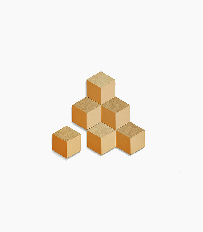 Areaware Table Tiles - Terracotta