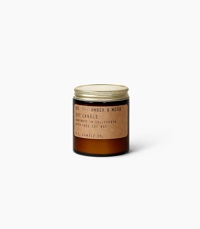 PF Candle Co 3.5 oz Soy Candle - Amber Moss