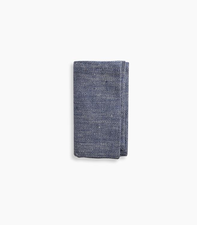 W&P Design Linen Napkins - Blue Chambray