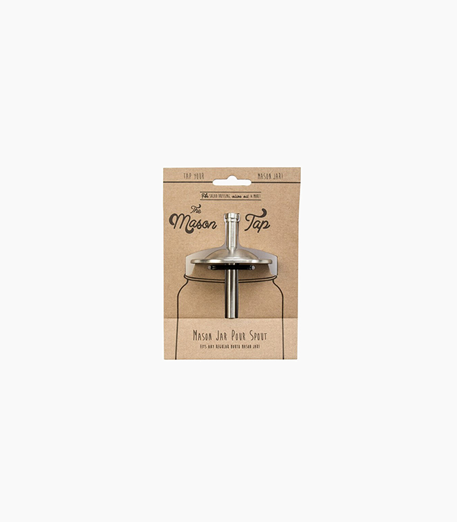 W&P Design The Mason Tap - Stainless Steel