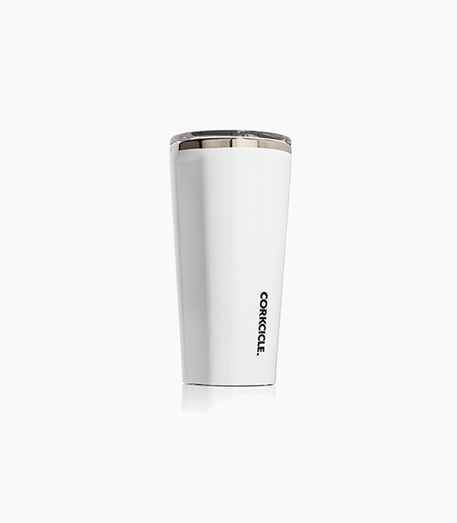 Corkcicle Tumbler 16oz - Gloss White