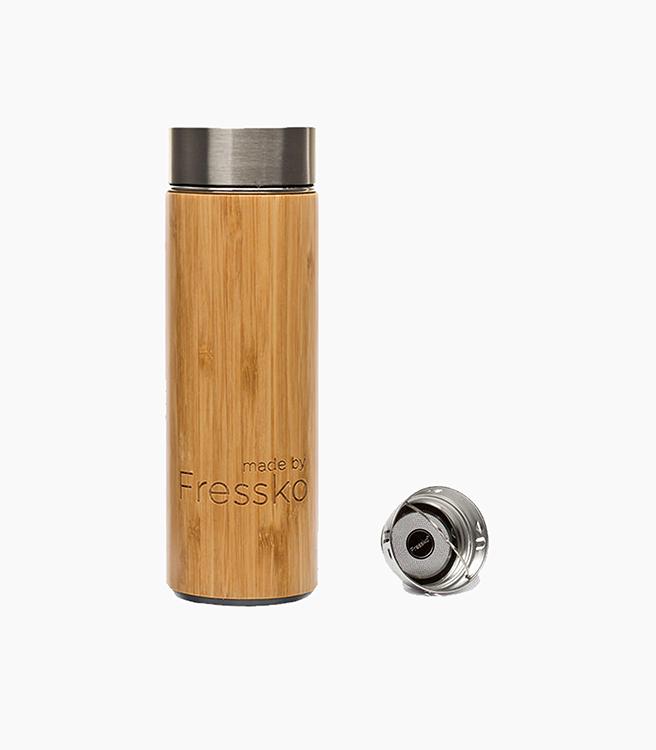 Fressko Rush Flask 300ml - Bamboo Wood