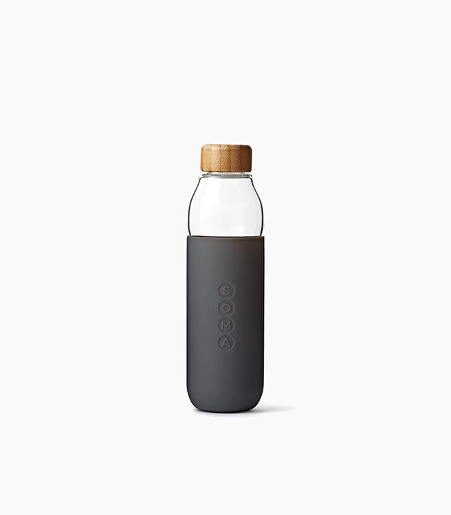 SOMA Glass Bottle 17oz - Grey