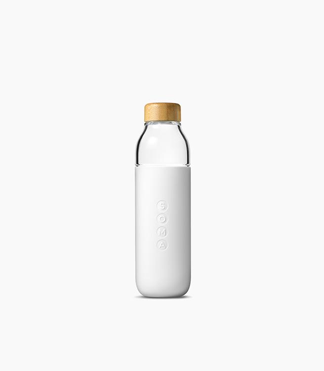 SOMA Glass Bottle 17oz - White