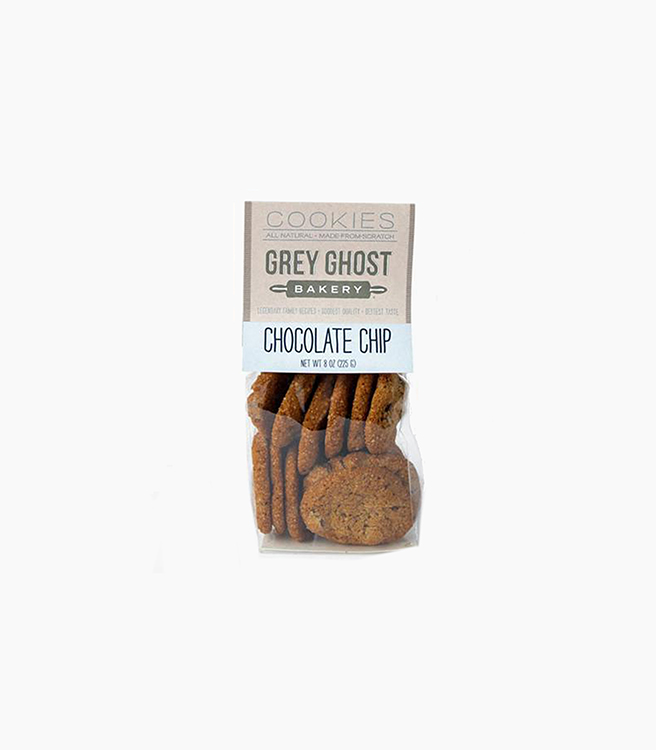 Grey Ghost Bakery 8oz Cookie Bag - Chocolate Chip