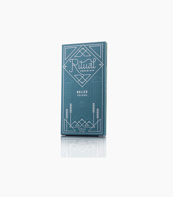 Ritual Chocolate Bars - Belize 75% Cacao