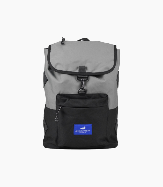 Alpine Division Eliot Ripstop Backpack - Grey