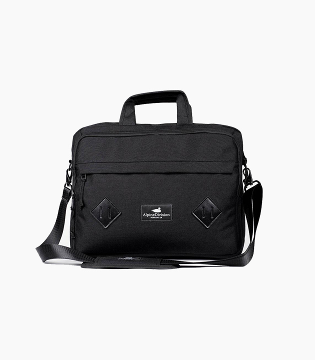 Alpine Division Marshall Messenger Bag - Black