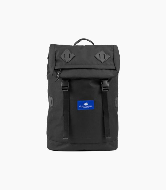Alpine Division Mckenzie Ripstop Backpack - Black