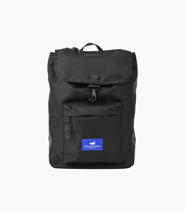 Alpine Division Rockaway Ripstop Backpack - Black