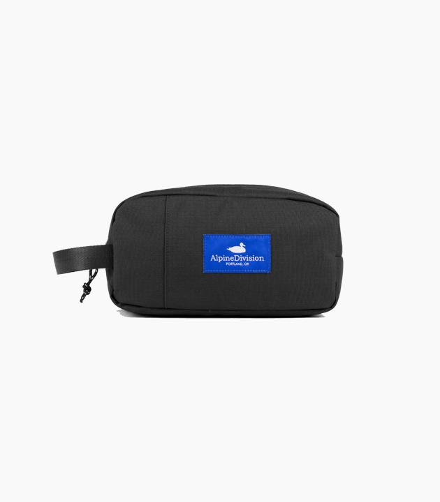 Alpine Division Sherpa Toiletry Bag - Black