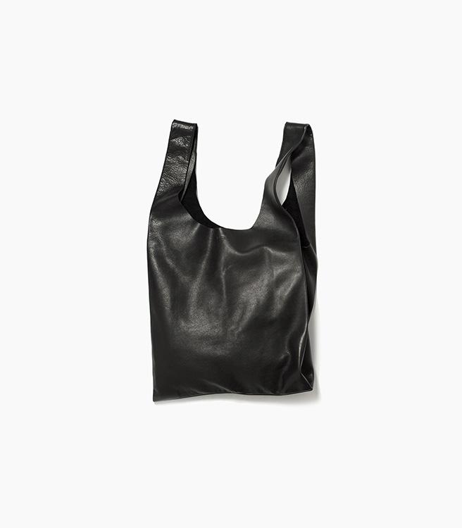 Baggu Leather Baggu - Black