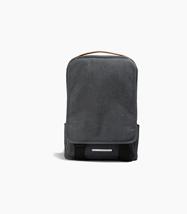 RawRow 310 Waxed Haze Backpack - Black