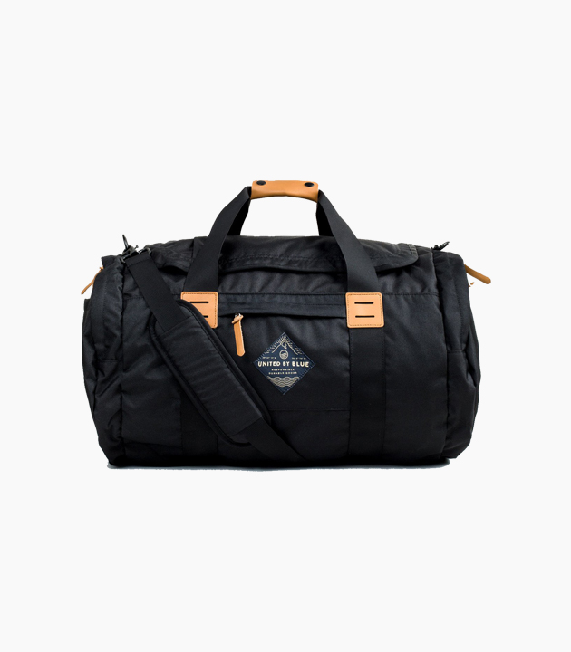 United by Blue 55L Arc Duffle - Black