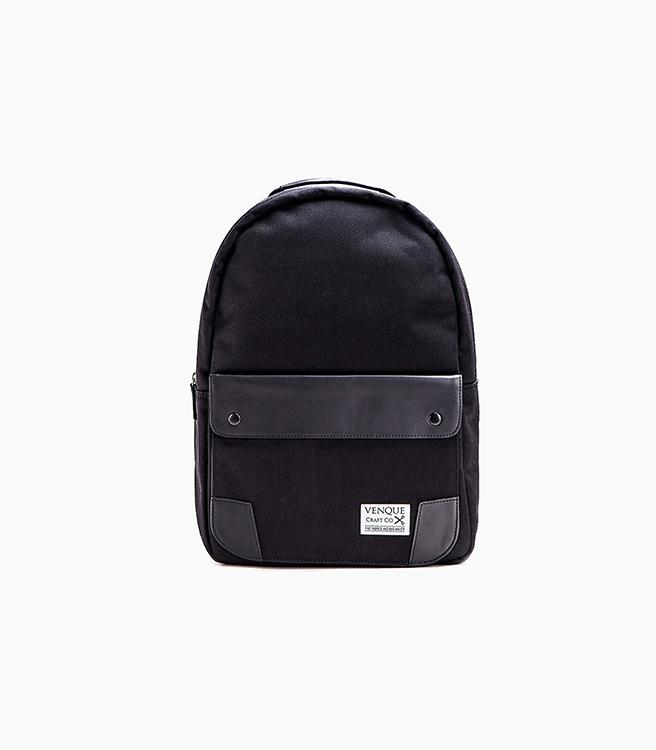Venque Classic Backpack - Black