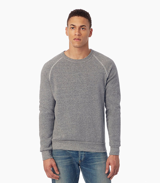 Alternative Apparel Champ Eco-Fleece Sweatshirt - Eco Grey