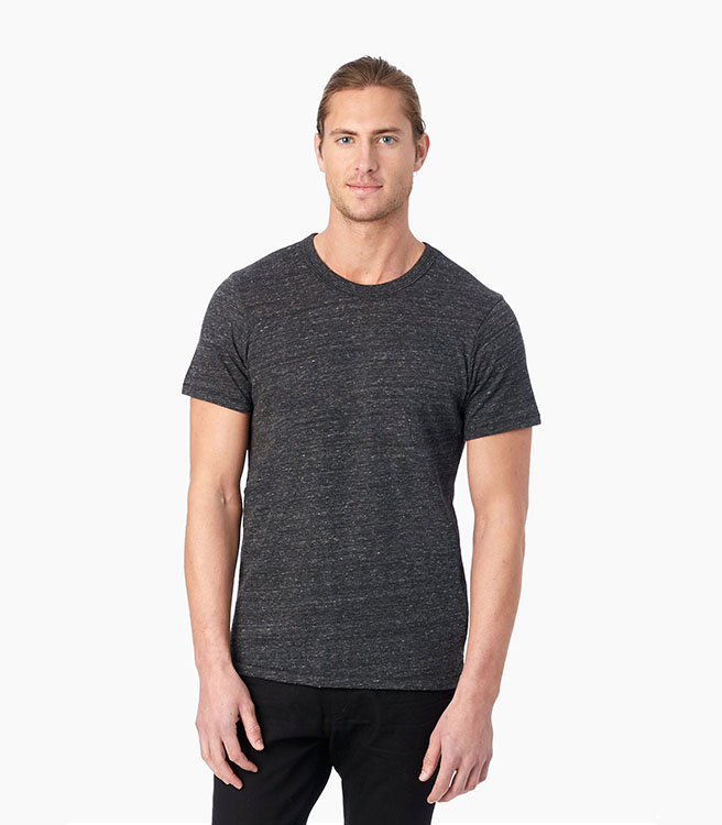 Alternative Apparel Eco-Jersey Crew T-Shirt - Eco Black