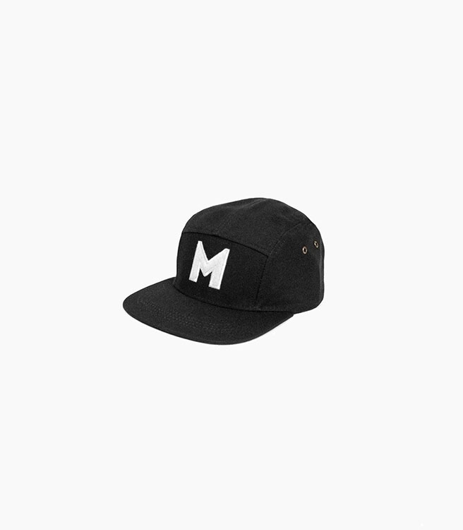 MyClo 5-Panel Campers - Black