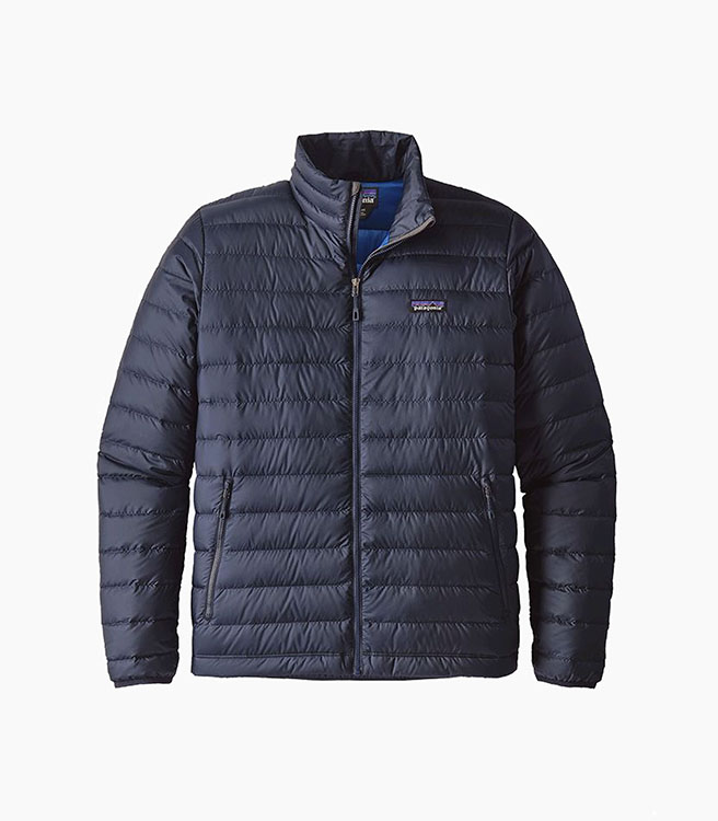 Patagonia Down Sweater Jacket - Navy