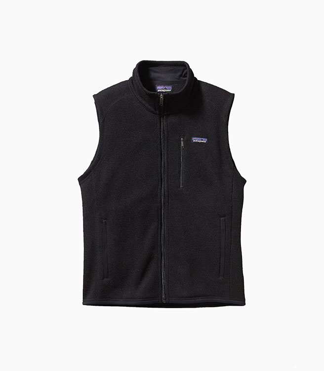 Patagonia Men's  Better Sweater® Vest - Black