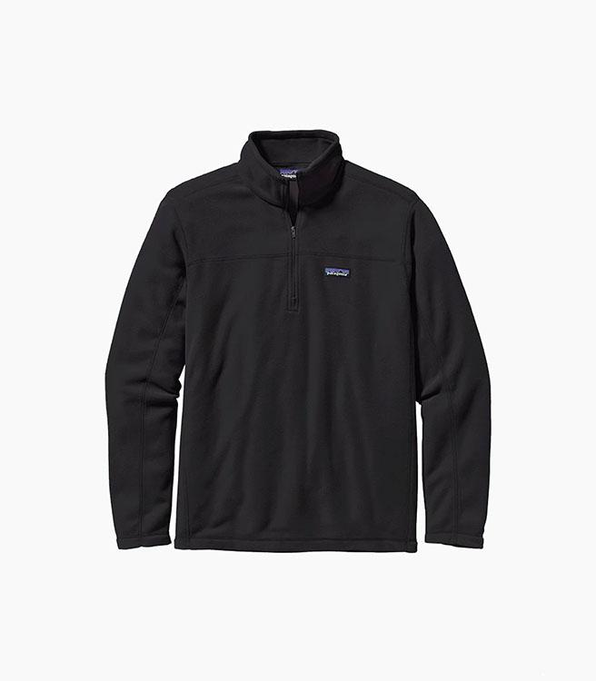 Patagonia Men's Micro D® Pullover - Black