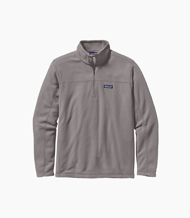 Patagonia Men's Micro D® Pullover - Feather Grey