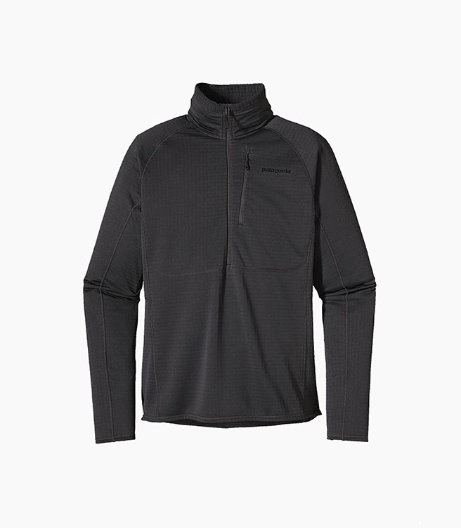 Patagonia Men's R1® Fleece Pullover - Black
