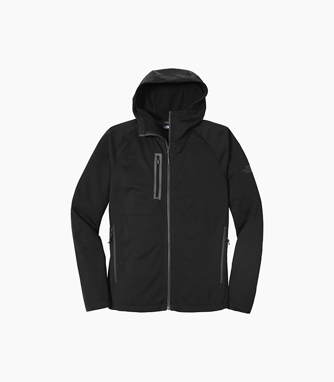 The North Face Canyon Flats Fleece Hooded Jacket - Black