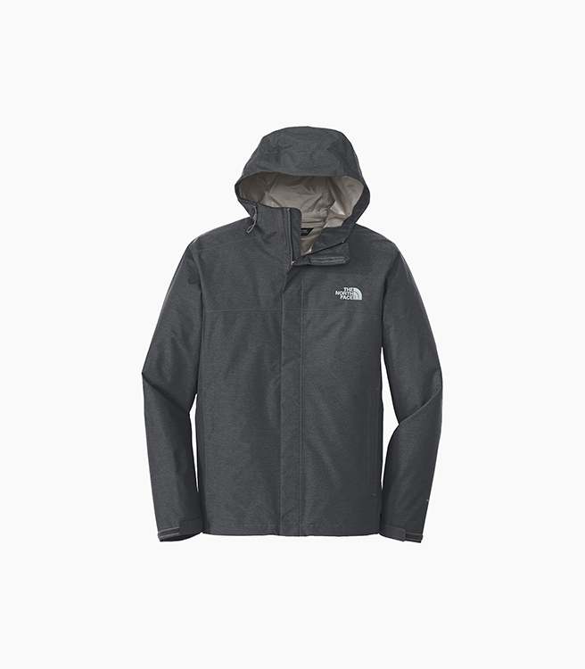 The North Face DryVent Rain Jacket - Dark Grey Heather